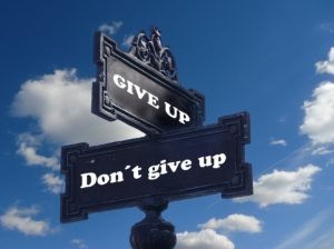 Give Up, Don't Give Up